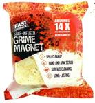 FAST ORANGE® Grime Magnet 1 sponge, flow wrap pack