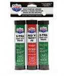 Lucas 3 oz Grease Pack/1Red &Tacky/2 X-Tra H/D