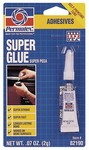 PERMATEX® Super Glue  2 g tube, carded