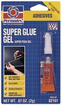 PERMATEX® Super Glue Gel  2 g tube, carded