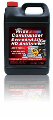Pride Commander Antifreeze conc. (red) gal