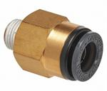 Straight Male Connector 3/8^ Tube X 1/8^ NPT (2)