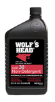 Wolf's Head 30W Non-Det. Compressor Oil 12/1qt